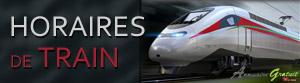 Horaires de train ONCF maroc